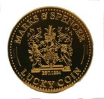 Marks and Spencer Milk Chocolate Lucky Coin Tin 80g