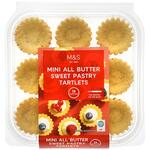 Marks and Spencer Mini All Butter Sweet Pastry Tartlet 18 Pack