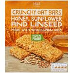 Marks and Spencer Oat Bars with Honey Sunflower and Linseed 5 x 42g