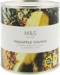 Marks and Spencer Pineapple Chunks 432g tin