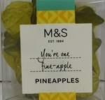 Marks and Spencer Pineapple Jellys 100g