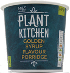 Marks and Spencer Plant Kitchen Vegan Golden Syrup Porridge Oats 70g