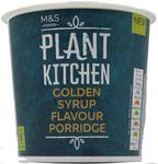 Marks and Spencer Plant Kitchen Vegan Golden Syrup Porridge Oats 70g