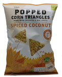 Marks and Spencer Popped Corn Triangles Spiced Coconut 70g