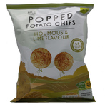 Marks and Spencer Popped Potato Chips Houmous and Lime 80g