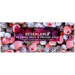 Marks and Spencer Resealable Food and Freezer Bag Small 50 Pack