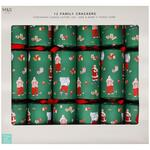 Marks and Spencer Santa Christmas Crackers 12 per pack