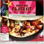Marks and Spencer Smoky BBQ Fajita Kit 553g