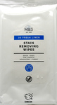 Marks And Spencer Stain Removing Wipes Fresh Linen 20 Pack