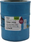 Marks and Spencer Tuna Steak in a Little Spring Water 3 x 120g