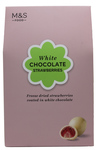 Marks and Spencer White Chocolate Strawberries 80g