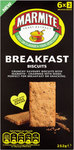 Marmite Breakfast Biscuits 6 x 2 Pack
