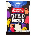 Maynards Bassetts Halloween Dead Chewy Sweets Bag 162g