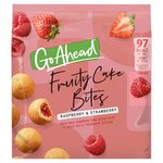 McVitie Go Ahead Fruity Cake Bites Raspberry and Strawberry 136g