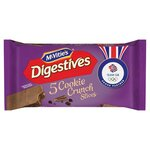 McVities Digestives Cookie Crunch Slices 5 Pack