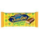 McVities Jaffa Cake Pineapple Cake Bars 5 Pack
