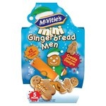 McVities Mini Gingerbread Men Icing Kit 5 x 19g