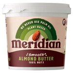 Meridian Smooth Almond Butter 1kg