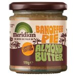 Meridian Smooth Palm Oil Free Banoffee Pie Almond Butter 170g