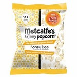 Metcalfes Skinny Honey Bee Popcorn 75g