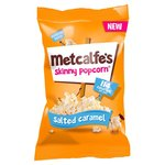 Metcalfes Skinny Popcorn Salted Caramel Flavour 25g