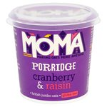 Moma Gluten Free Cranberry and Raisin Porridge 76g