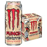 Monster Pacific Punch Energy Drink 4 x 500ml