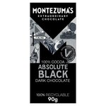 Montezumas 100% Absolute Black Chocolate 90g