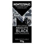 Montezumas 100% Absolute Black Chocolate 90g