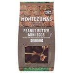 Montezumas 100% Cocoa Dark Chocolate Mini Eggs with Peanut Butter 150g