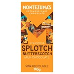 Montezumas Butterscotch Milk Chocolate 90g
