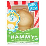 Moo Free Dairy Free White Chocolate Hamster 85g