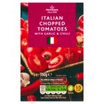 Morrisons Chopped Tomatoes with Garlic and Chilli 390g