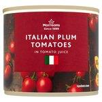 Morrisons Italian Plum Tomatoes 220g