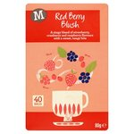 Morrisons Red Berry Blush Tea Bags 40 per pack