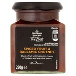 Morrisons The Best Spiced Fruit and Balsamic Chutney 280g
