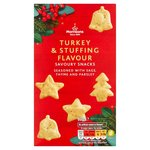 Morrisons Turkey Sage and Stuffing Flavour Savoury Snacks 80g