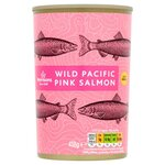 Morrisons Wild Pacific Pink Salmon 418g