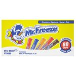 Mr Freeze Super Size Freeze pops 80 x 90ml