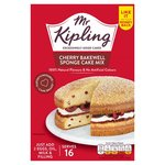Mr Kipling Cherry Bakewell Sponge Cake Mix 350g