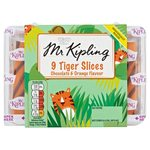 Mr Kipling Chocolate and Orange Tiger Slices 9 Pack