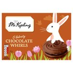 Mr Kipling Chocolate Whirls 6 Pack