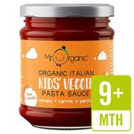 Mr Organic Kids Veggie Pasta Sauce Tomato Carrot and Parsnip 200g