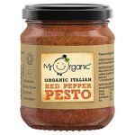 Mr Organic Red Pepper Pesto 130g