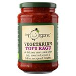 Mr Organic Tofu Sweet Red Pepper and Tomato Pasta Sauce 350g