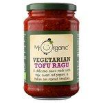 Mr Organic Tofu Sweet Red Pepper and Tomato Pasta Sauce 350g