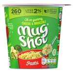 Mug Shot Cheese And Broccoli Pasta 68G