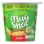 Mug Shot Cheese And Broccoli Pasta 68G