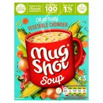 Mug Shot Vegetable Chowder Cup Soup 3 x 25g Sachets