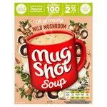 Mug Shot Wild Mushroom Cup Soup 3 x 25g Sachets